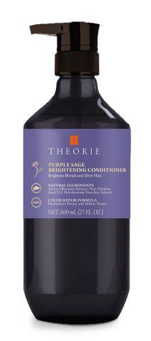 Theorie Purple Sage Brightening Blonde Conditioner 800ml