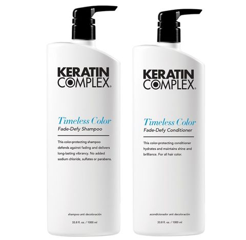 Keratin Complex Timeless Colour Shampoo and Conditioner Duo 1L
