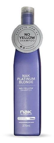 NAK Platinum Blonde Shampoo 375ml