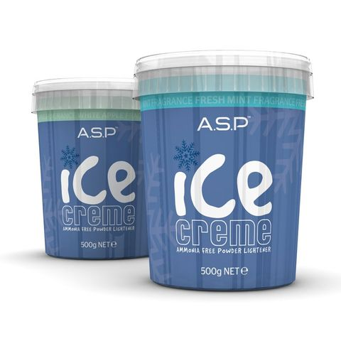 Asp Ice Creme Bleach Fresh Mint 500g