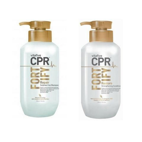 Vita 5 CPR Fortify Shampoo and Conditioner Duo 900ml