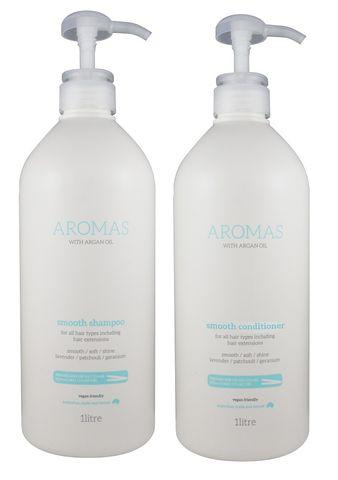 NAK Aromas Argan Smooth S/C Duo 1L