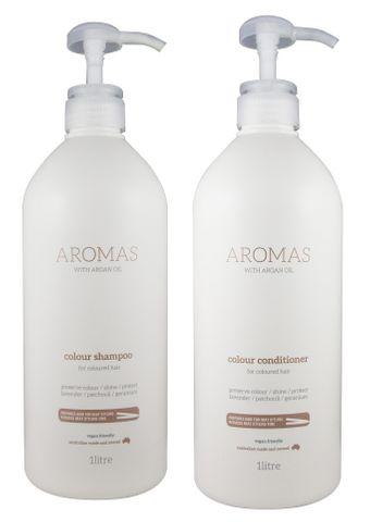 NAK Aromas Argan Colour S/C Duo 1L