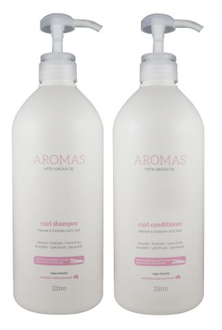 NAK Aromas Argan Curl S/C Duo 1L
