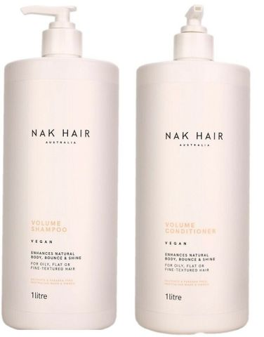 NAK Volume Shampoo & Conditioner 1L Duo