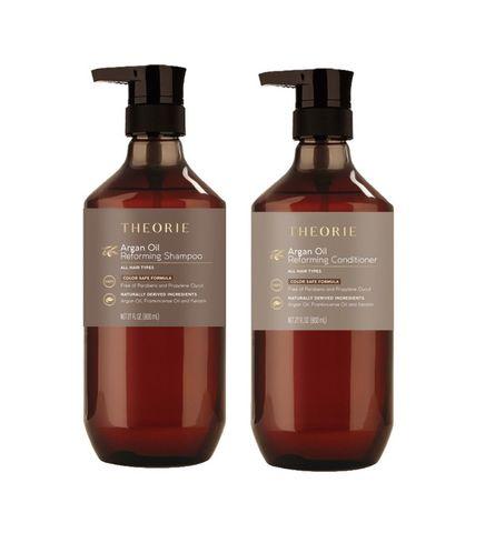 Theorie Argan Oil Reforming Shampoo & Conditioner Duo 800ml