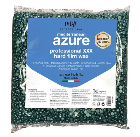 Hi Lift Azure Hard Wax Beads 1kg