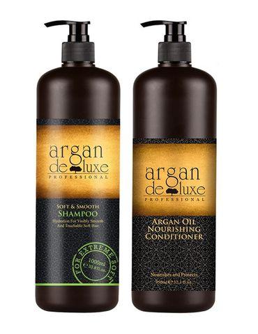 Argan De Luxe Soft & Smooth S/C Duo 1L