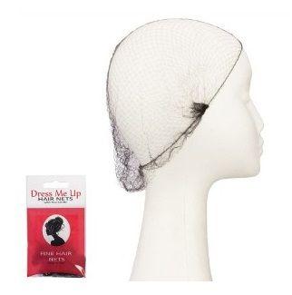 Dress Me Up Fine Hair Net Black 2pk 135959