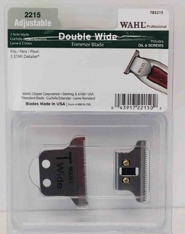 Wahl Detailer Double Wide Extra Wide Trimmer Blades