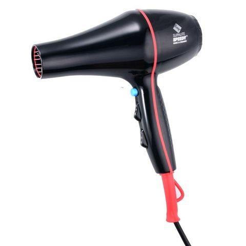 Speedy Supalite Professional Hairdryer - Black