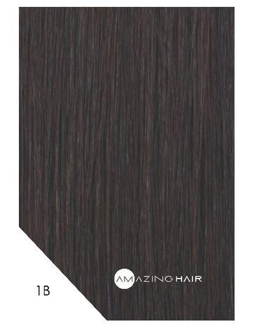 Amazing Hair 20 inch TAPE Extensions Dark Brown #1B SLIM 20pc