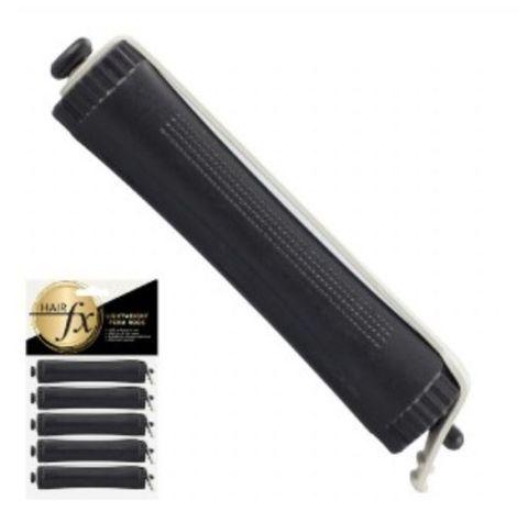 Hair FX Perm Rod Black 16mm 5pk 500400