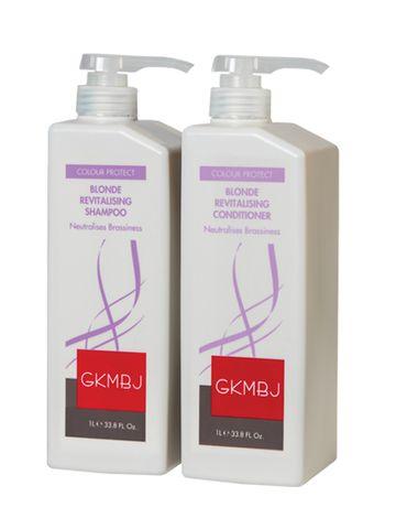 GKMBJ Blonde Shampoo & Conditioner Duo 1L