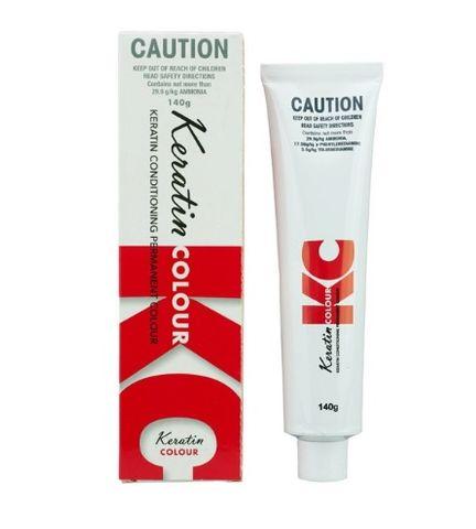 Keratin Permanent Hair Colour 140g Warm Series 1 - Black