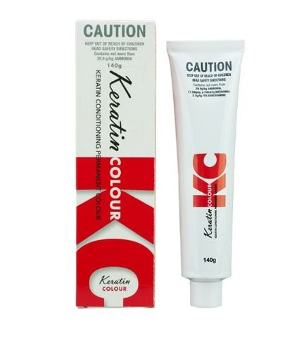 Keratin Permanent Hair Colour 140g Warm Series 4 - Brown