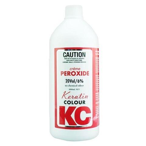 Keratin Colour Peroxide 990ml 20 Vol - 6%