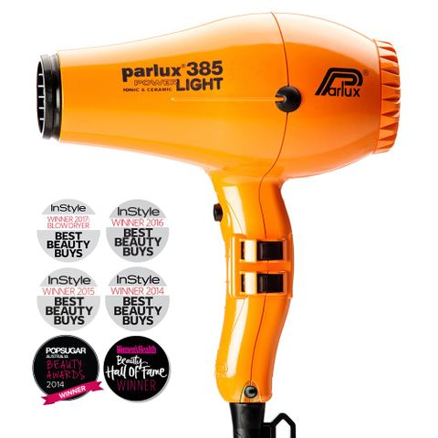 Parlux 385 Powerlight Dryer - Orange