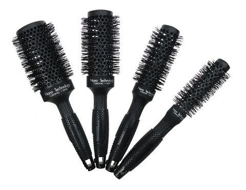 Koza Top Pro Cermaic Hot Curl Brush 25mm