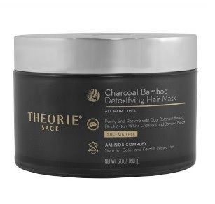 Theorie Charcoal Bamboo Detoxifying Hair Treatment Mask 193g