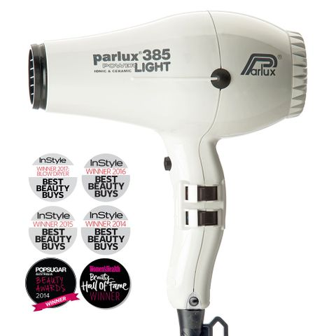 Parlux 385 Powerlight Dryer - White
