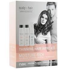 NAK Scalp to Hair Moist Mineral Kit 250ml