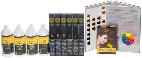 Argan De Luxe Ammonia Free Hair Colour 25 Colour Intro Deal