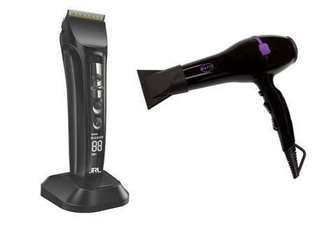 JRL FreshFade 1040 Black Clipper with FREE Watts Dryer