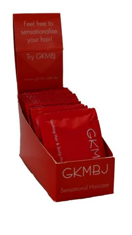 GKMBJ Nourishing Shampoo Samples 7.5ml 20box