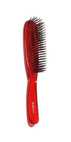Hi Lift Clear Crystal Brush Red Large 6 Rows