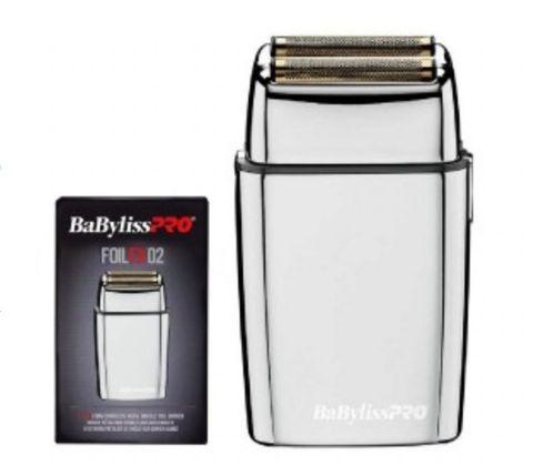 Babyliss PRO FoilFX02 Metal Double Foil Shaver - Australian Stock