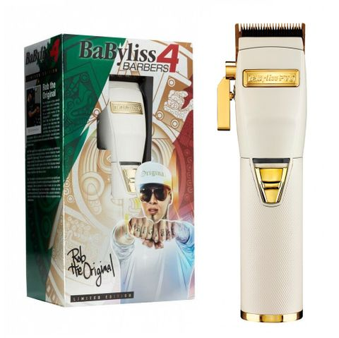 Babyliss PRO WhiteFX Lithium Hair Clipper - Australian Stock