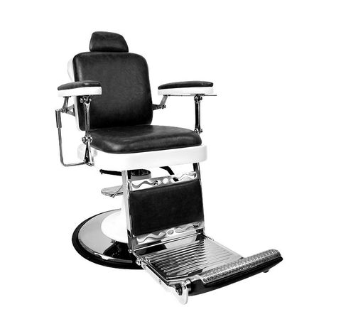 Barber Culture Excalibur Barber Chair - Black