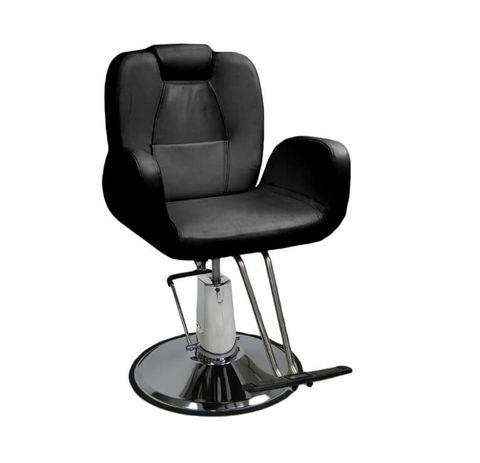 Glammar Zoey Salon Chair  -  Black  -  Round Base