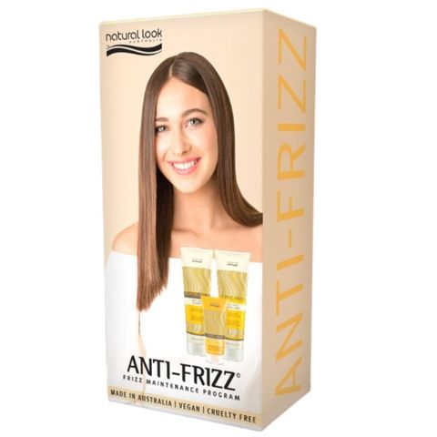 Natural Look Static Free Pack (Anti-frizz)