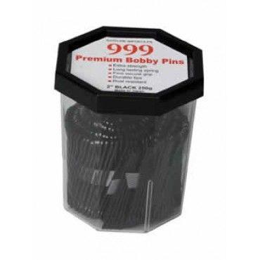 999 Bobby Pins 2 inch Black 250g