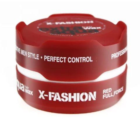 X-Fashion Extra Aqua Hair Wax Full Force Red 150ml