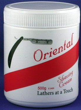 Oriental Shaving Cream 500gm