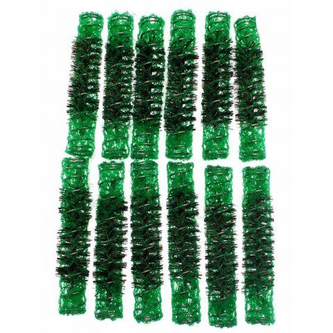 Santorini Brush Rollers Green 11.5mm 12i