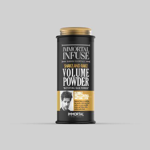 Immortal Infuse Mattifying Hair Volume Powder 20G (Black)