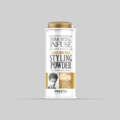 Immortal Infuse Hair Styling Powder 20G (White)