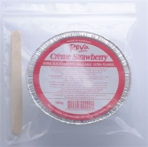 Reva Strawberry Creme Pan Wax 100g