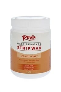 Reva Apricot Honey Strip Wax 1L