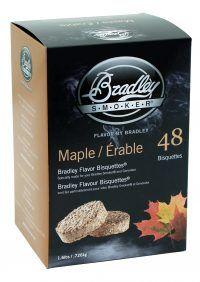 Bradley Smoker Maple Bisqettes 48 Pack