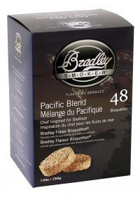 BRADLEY SMOKER PACIFIC BLEND BISQUETTES 48 PACK