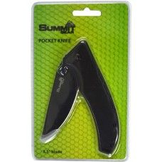 Summit Pocket Knife Black