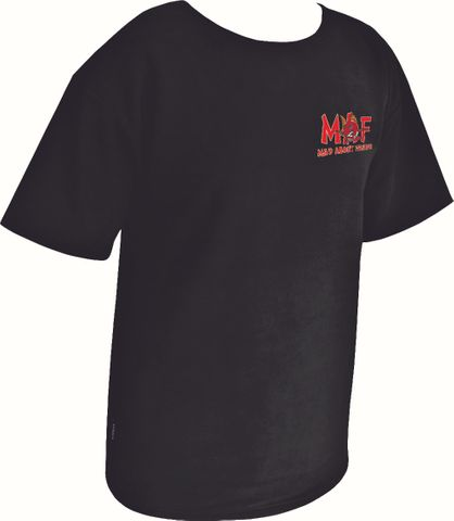 MAF FLEECE T  BLACK