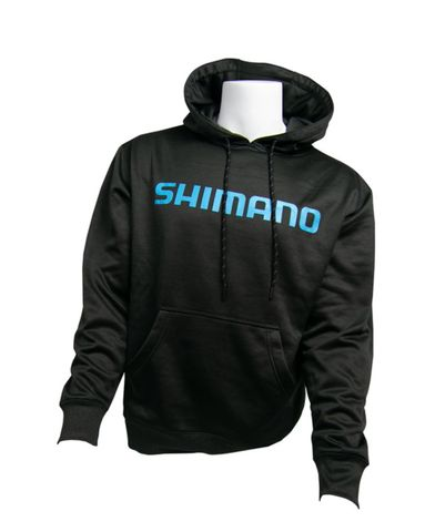 Shimano Charcoal  Performance Hoodie Med