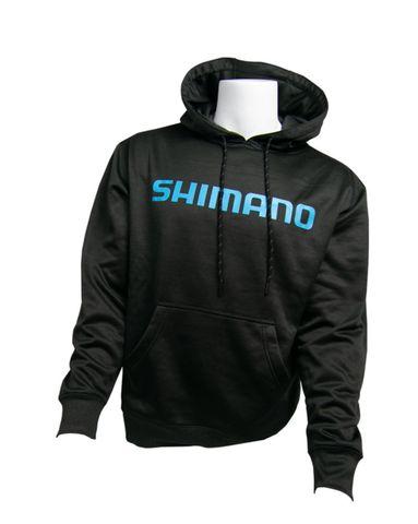 Shimano Charcoal  Performance Hoodie Lge