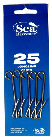 Sea Harvester Clips  25 Pack